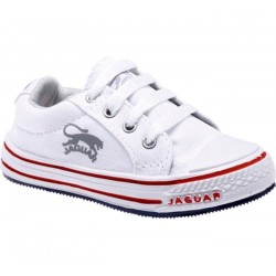 Zapatilla Lona Niño Color Blanco - Jaguar