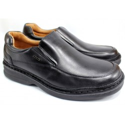 Mocasin De Cuero Color Negro Flex - Ringo