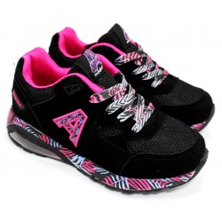 Zapatilla Silicon Air Color Negro/fucsia - Addnice
