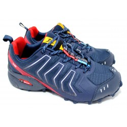 Deportiva Running / Treking Color Azul - Tipo Salomon - Knup