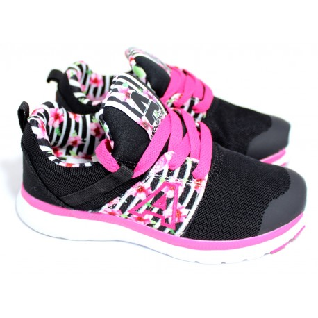Zapatilla Running Color Negra - Addnice