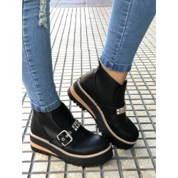 Borcego  Color Negro