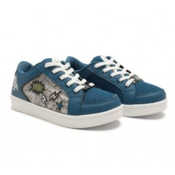 Footy - 236- Zapatilla Azul Estampada C/ Luz Led Lateral