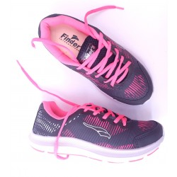 1497- Deportiva Gris/rosa Blue Ray